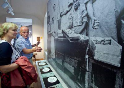 Interiér muzea