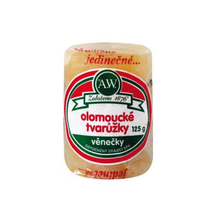 Olomoucké tvarůžky Věnečky 125g